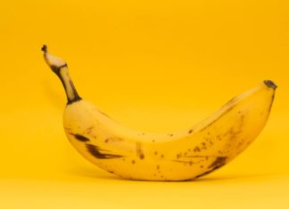 banana curved image