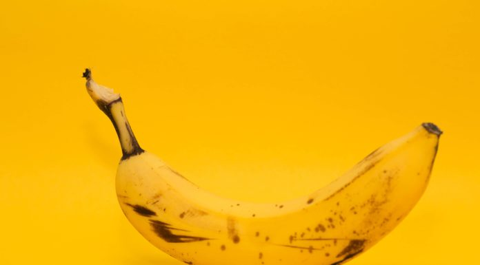 banana curved image
